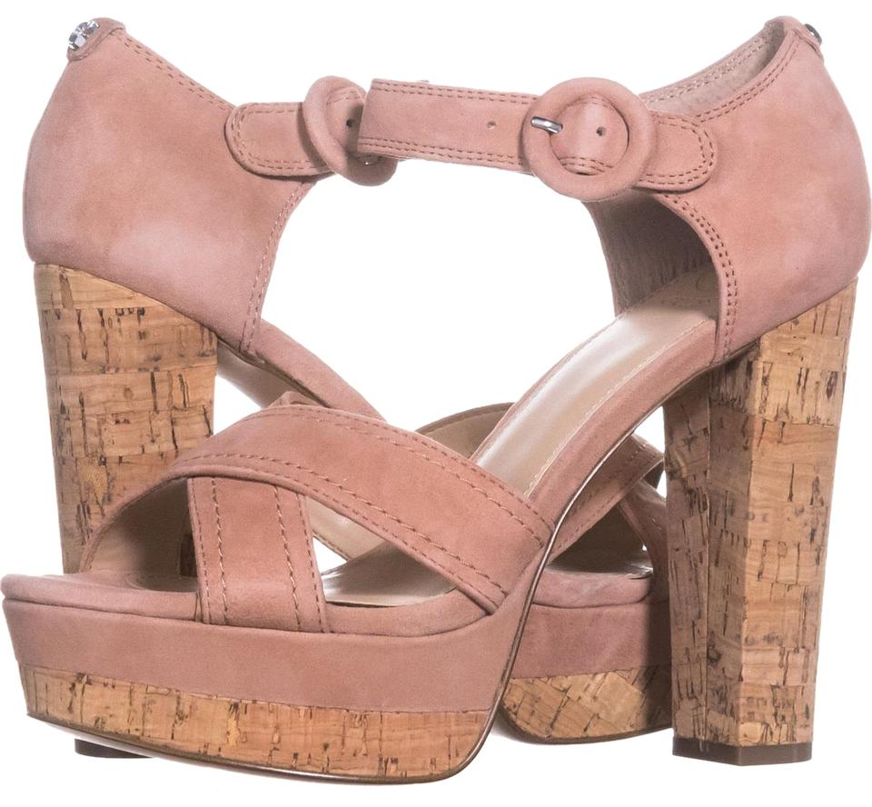 Guess Pink Parris Platform Ankle Pumps Strap Sandals 059 Medium Pumps Ankle 93b693