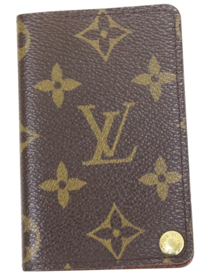 4a71443cf9ed Louis Vuitton LOUIS VUITTON Monogram Canvas Porte-cartes Card Holder Image  0 ...