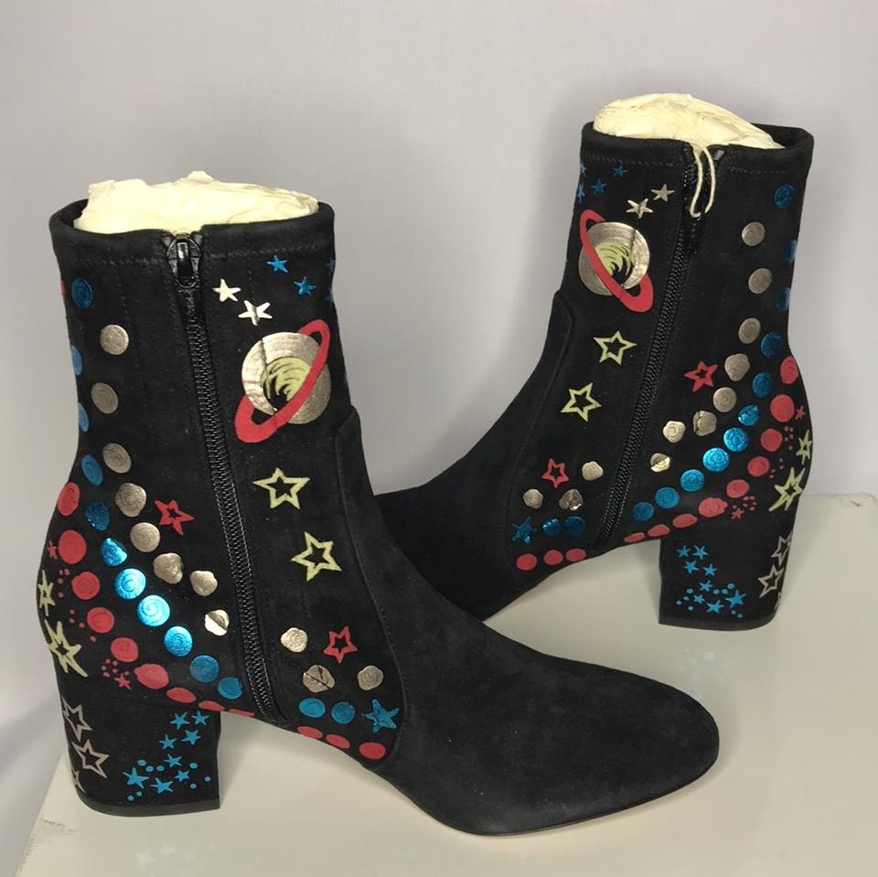 Booties Valentino New Multi Black Boots Blue Red gRqxR6wY