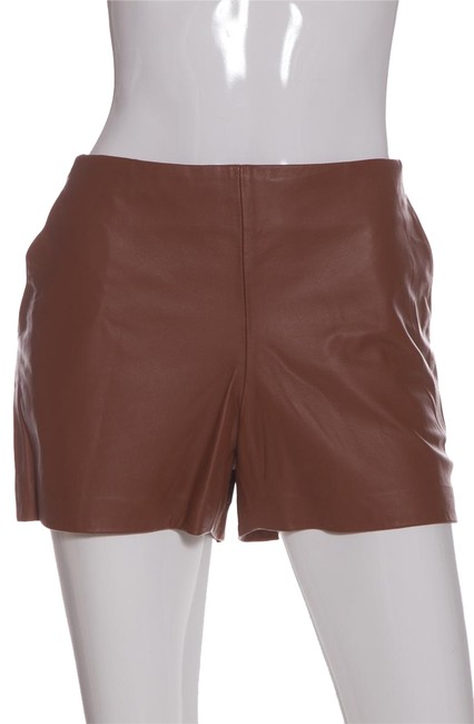 Item - Brown Tan Leather Shorts Size 8 (M, 29, 30)