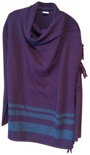 Item - #3002 Wrap Eggplant Sweater