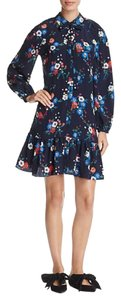 Tory Burch short dress Pansy Bouquet on Tradesy