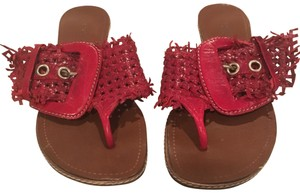 Pons Quintana Red Sandals