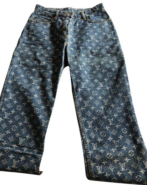 Preload https://img-static.tradesy.com/item/23226170/louis-vuitton-blue-monogram-denim-fr-straight-leg-jeans-size-36-14-l-0-1-650-650.jpg
