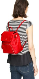Kate Spade Charley Cobble Hill Pebbled Leather Backpack