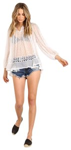 ZIMMERMANN Sheer Cover Up Top white