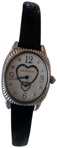 Judith Ripka Judith Ripka Sterling/Stainless/Mother-of-Pearl Leather Watch