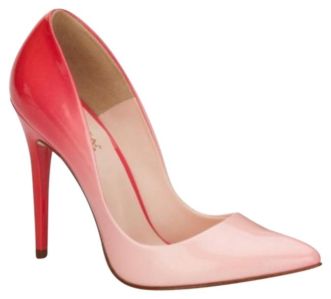 Item - Red-pink Ombre Pumps Size US 7.5 Narrow (Aa, N)