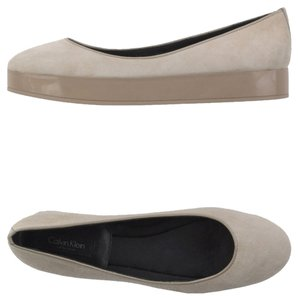Calvin Klein Collection gray Flats