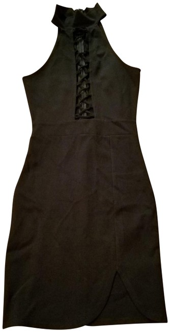 1ef778c2289f0 Windsor Black Sexy Little Mid-length Cocktail Dress Size 4 (S) - Tradesy