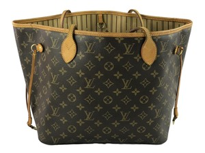 Louis Vuitton Neverfull Monogram Mm Shoulder Bag