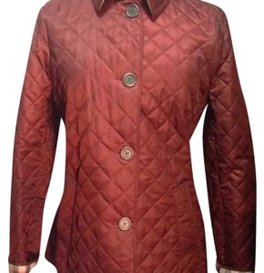 Burberry Deep Claret / Wine Jacket