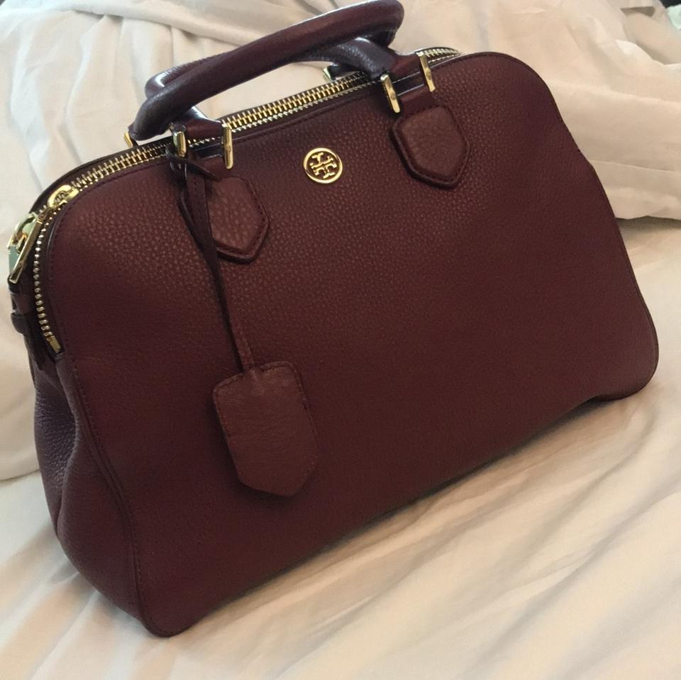 Tory and Body Cross Pebbled Shoulder Purple Triple Leather Zipper Burch Colored Bag Berry rUqRr