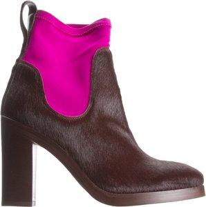 Acne Studios Bordeaux calf hair Boots