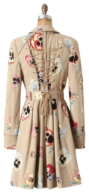 Item - Multi-color Pansy By Elevenses Coat Size 8 (M)