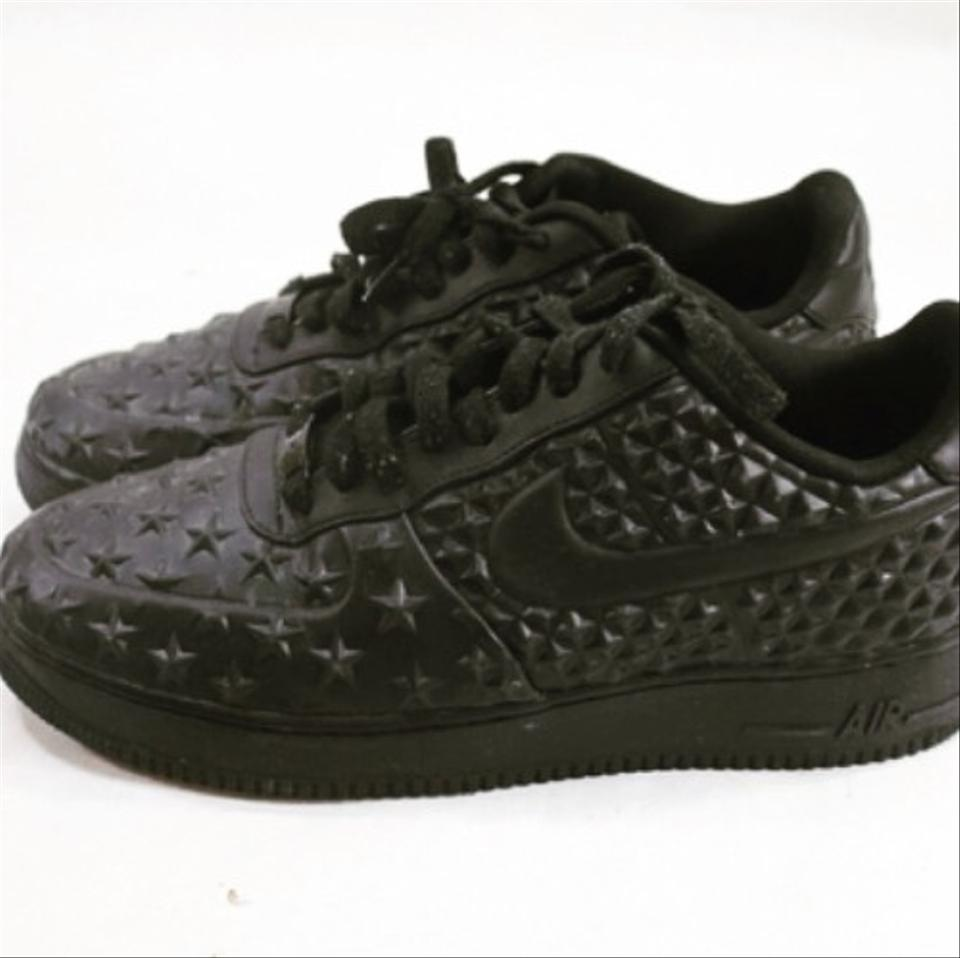 new style b5071 fd218 Nike Black Air Force 1 Low Dunk Lv8 Vt Stars Sneakers Size US 10.5 ...