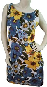 Nine West Floral Water Colors Summer Dress