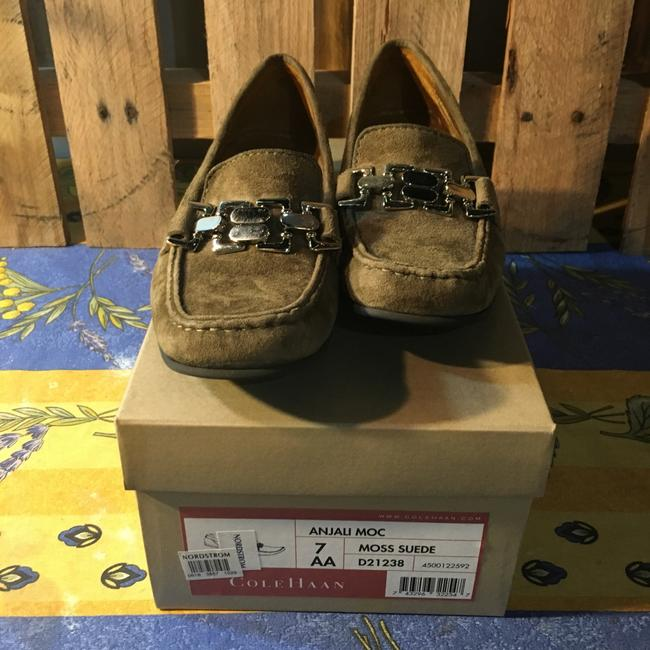 Cole Haan Forrest Green Flats Size US 7 Narrow (Aa, N) Cole Haan Forrest Green Flats Size US 7 Narrow (Aa, N) Image 5