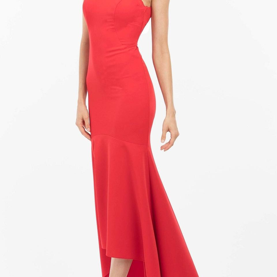 Nicole Miller Red New York Long Casual Maxi Dress Size 6 (S) - Tradesy