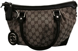 Gucci Satchel Tote Cross Body Bag