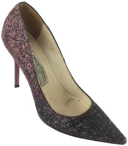 Jimmy Choo Deep Maroon Pumps