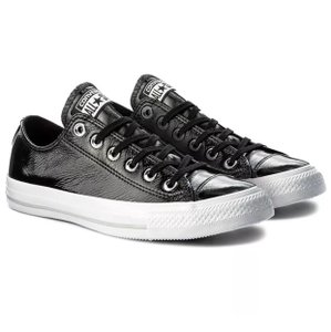 Converse black patent Athletic