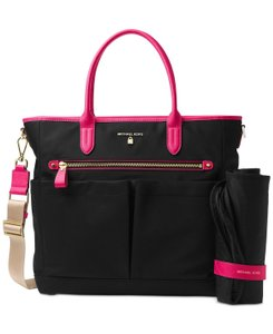 Michael Kors Black/Ultra Pink Diaper Bag