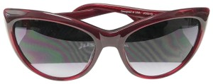 Just Cavalli Just Cavalli Womens Red Rose Crystal Catseye Sunglasses JC631S 68B