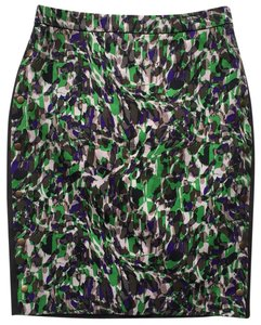 Club Monaco Mini Skirt Green