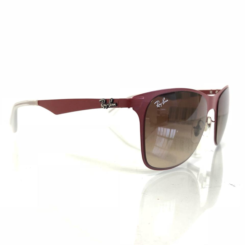 f11319b1bc Ray-Ban Wayfarer Flat Metal Rb3521 162 13 Wayfarer Flat Metal Rb3521  162 13. Frame Color  Red Lens Color  Brown Frame Sunglasses