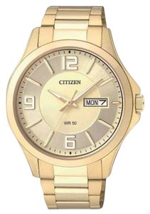 Citizen BF2003-50P Men's Gold Stainless Steel Bracelet With Gold Dial Watch