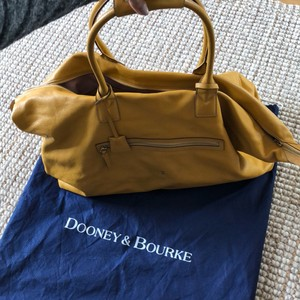 Dooney & Bourke mustard Travel Bag