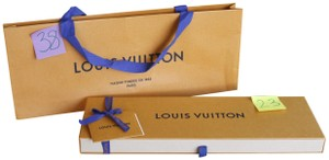 Louis Vuitton Bandeau Gift Box & Store Shopping Bag Combo