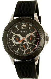 Timex Timex TW2P87500 Men's Black Silicone Band With Black Analog Dial Watch