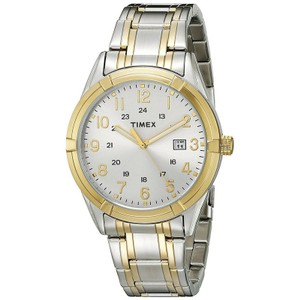 Timex Timex TW2P76500 Men Two Tone Steel Band With Silver Analog Dial Watch