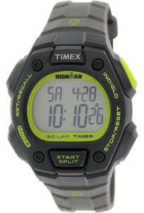 Timex Timex T5K824 Men's Black Resin Band With Grey Digital Dial Watch