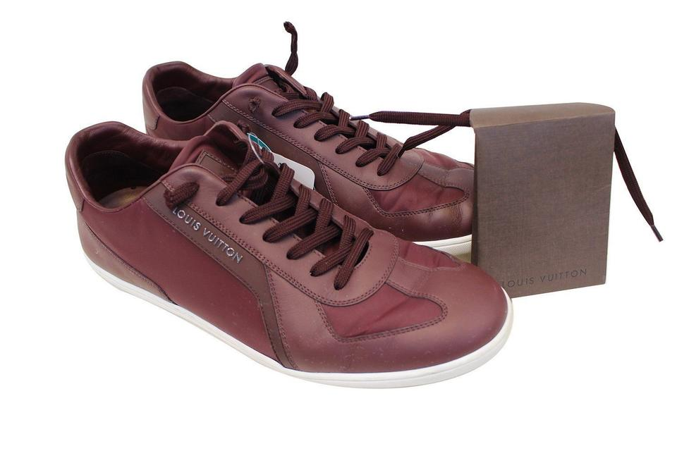 05ca35b50476 Louis Vuitton Burgundy Sneakers 1 2 Boots Booties Size US 8.5 ...