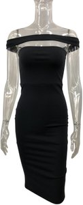 Donna Mizani Cutout Femenine Sexy Zipper Dress