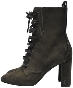 ba422c2b Green Saint Laurent Boots & Booties - Up to 90% off at Tradesy