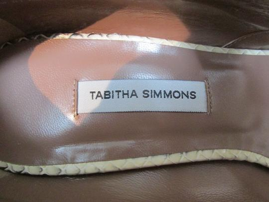 Tabitha Simmons brown Platforms