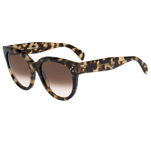 Céline NEW Celine Audrey Honey Brown Oversized Round Sunglasses