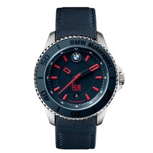 Ice BMW Motorsport 43 mm Chronograph Navy Blue Dial Men's Watch