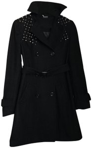 Sparkle & Fade Trench Coat