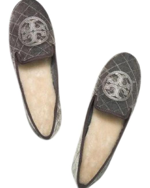Item - Grey Pewter Billy Slipper Flats Size US 9 Regular (M, B)