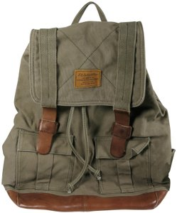 Lucky Brand Mens Leather Backpack