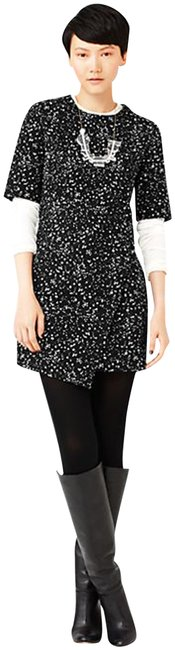 Item - Multi-color Asymmetrical Crossover Front Panel Short Casual Dress Size 0 (XS)