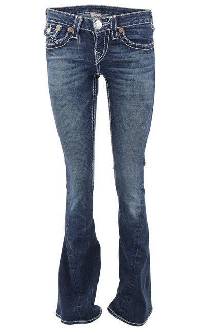 Item - Joey Low Rise Flare Blue Jeans