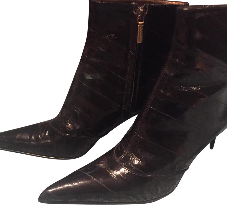 35a47a5e3 Dolce&Gabbana Black Patent Leather Ankle Boots/Booties Size EU 38 ...