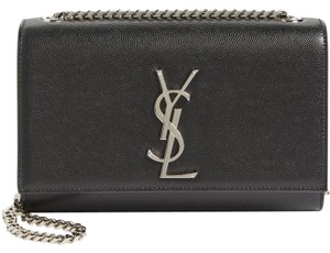 Saint Laurent Kate Small Caviar Cross Body Bag