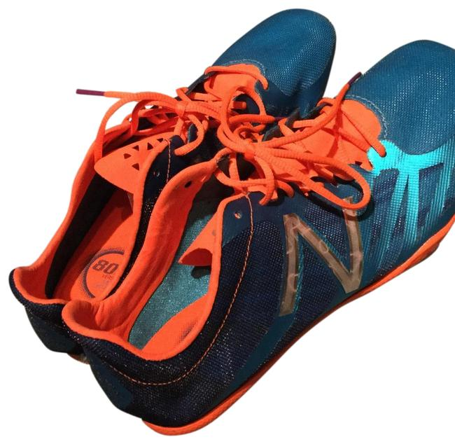 Item - Blue and Orange Fields Track Sneakers Size US 8.5 Regular (M, B)